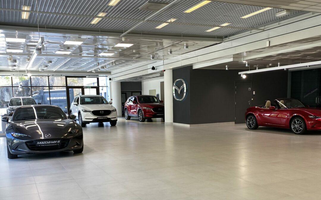 Velkommen til vår «nye» Mazda forretning på Østerås.